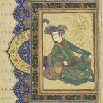 School of Riza Abbasi, A Prince Reclining against a Bolster, c. 1650, Safavid, Yale University Art Gallery