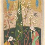 Illustration from an Unidentified Manuscript, possibly the Masnavi of Jalal al-Din Muhammad Rumi, Safavid, c. 1560, Yale University Art Gallery